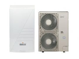 Foto: KSK, vnitřní a venkovní jednotka tepelného čerpadla DAIKIN ALTHERMA