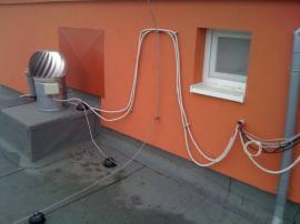 Neodborná instalace hybridního ventilátoru HV 14