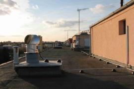 Instalace hybridního ventilátoru HV 14 od firmy Tauris