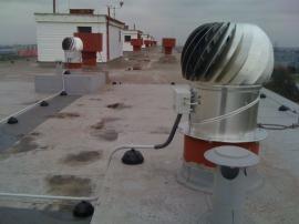 Technické řešení 1x hybridní ventilátor HV 14