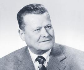 Foto: Internorm, Firma Internorm – úspěšná již po tři generace. 1. generace: Eduard Klinger senior.