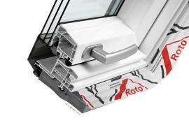 Foto: Roto, střešní okno Roto Designo R8 - řez izolačním trojsklem