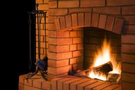 Ilustrační foto (www.shutterstock.com), otevřený krb