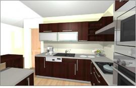 Obr: www.uspornedomy.cz, 3D návrh kuchyně