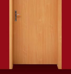 Ilustrační foto (www.shutterstock.com), levé dveře a zárubeň