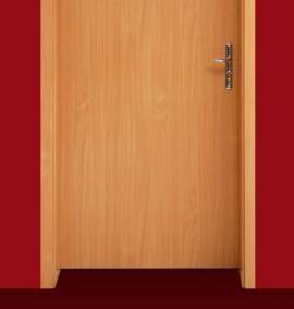 Ilustrační foto (www.shutterstock.com), pravé dveře a zárubeň