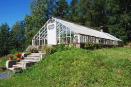 Ilustrační foto (www.shutterstock.com), velkoryse pojatý zahradní skleník