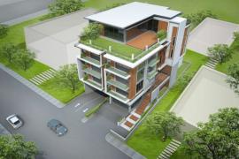 Ilustrační foto (www.shutterstock.com), intenzivní zelená střecha, 3D model