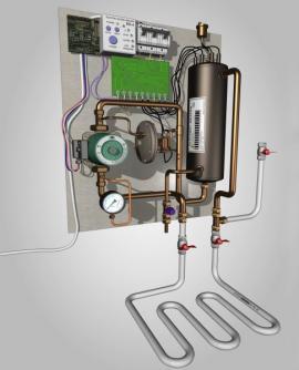 Ilustrační obrázek (www.shutterstock.com), elektrický topný kotel
