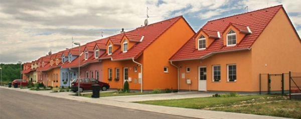 Foto: Domy Tvarožná, vzhled domů - foto z jiné lokality