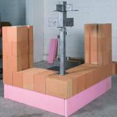Foto: Wienerberger, výstavba rohového okna - krok 2