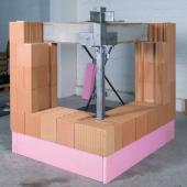 Foto: Wienerberger, výstavba rohového okna - krok 3