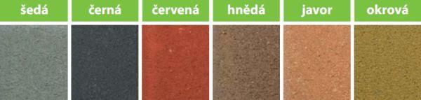 Obr: CS BETON, barevnost palisád