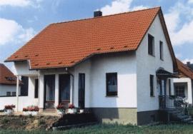 Foto: www.domoja-cz.com, dřevostavba z elementů sendvičového provedení