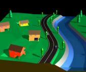 Obr: www.domoja-cz.com, vizualizace vertikálního posunu domu při povodni
