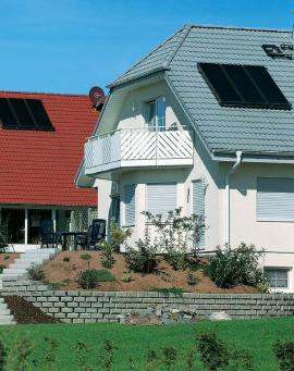 Foto: Viessmann, solární panely Vitosol