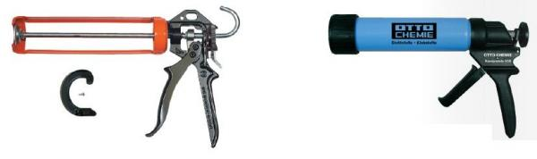 Foto: www.otto-chemie.de, mechanické pistole