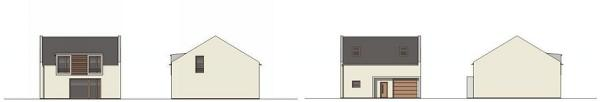 Typový dům Opuncie - pohledy