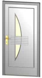 Foto: DODO for life, vchodové dveře Solido