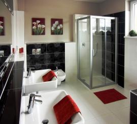 Vzorový dům EXCELENT - interiér koupelny
