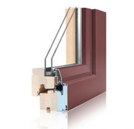 Dřevohliníková okna Fusion