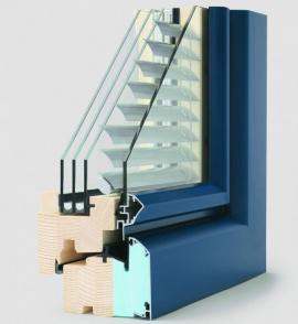 Dřevohliníkové okno Ed[it]ion 4