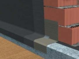 Vodorovná izolace pod stěnami