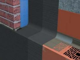 Izolace předstěn a budov nad úrovní terénu