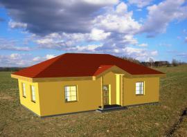 Obr: STAVEX, typový bungalov Alfa