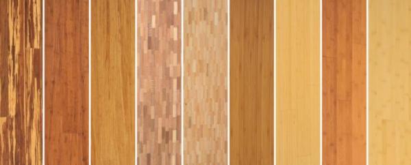 Obr: Lerch Podlahy, vzorník bambusových lamel