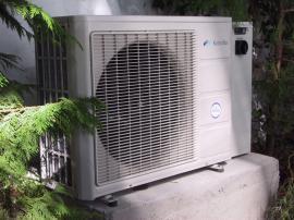 Foto: KOSTEČKA GROUP, jednotka tepelného čerpadla vzduch-voda