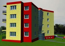 Ukázka vizualizace přihlášeného projektu