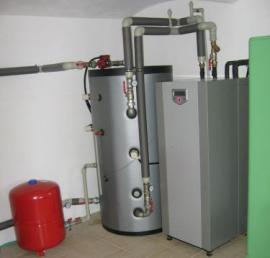 Obr: KOSTEČKA GROUP, vnitřní jednotka čerpadla vzduch - voda