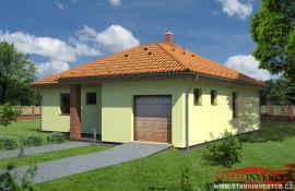 Vizualizace typového domu EDMONTON 100 VNG