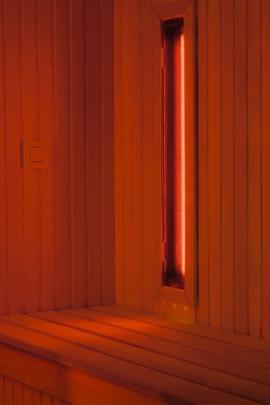 Ilustrační foto (www.shutterstock.com), infrazářič v infrasauně