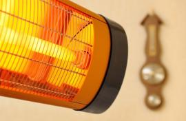 Ilustrační foto (www.shutterstock.com), detail infrazářiče