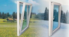 Foto: Oknoplastik, ventilace v létě a v zimě