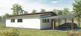 3D model: ATRIUM, dům Libra řady ATRIUM EXCLUSIVE