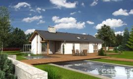 Projekt bungalovu Uno 1