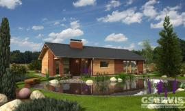 Projekt bungalovu Uno 2