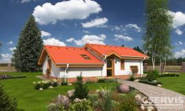 Projekt bungalovu Bungalow 14