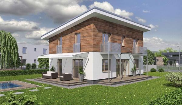 3D model: Heluz, pasivní dům HELUZ Pohoda