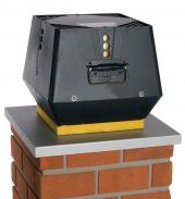 Spalinový ventilátor EXODRAFT typ RSV svertikálním výdechem spalin