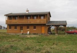 Foto: Ekopanely, domek z Ekopanelů v Jizerských horách