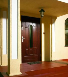 Foto: Porta Doors, dřevěné vchodové dveře Gdynia