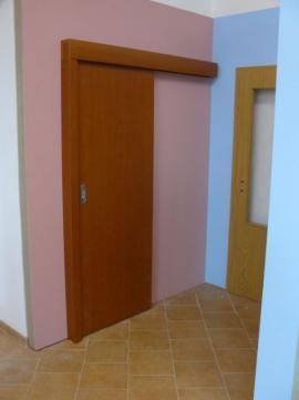 Foto: SEPOS, dveře posuvné na stěnu