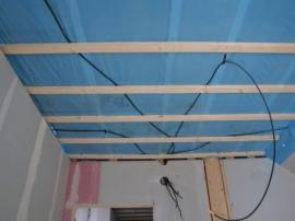 Foro: RD Rýmařov, parozábrana ve stropní konstrukci