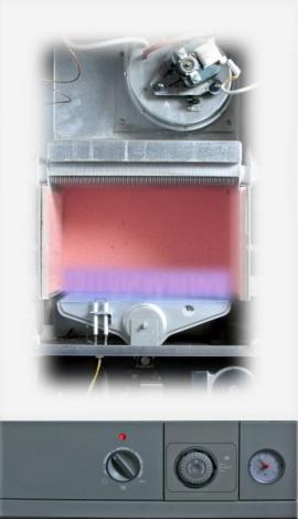 Ilustrační foto (www.shutterstock.com), řez plynovým kotlem