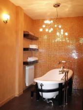 Ilustrační foto (www.shutterstock.com), luxusní osvětlení koupelny