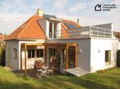 Rekonstrukce rodinného domu na pasivní v Brně